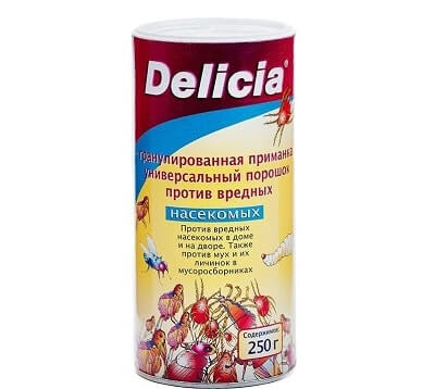 порошок Delicia от блох